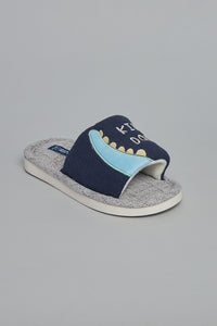 Navy Character Indoor Slipper