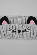 Load image into Gallery viewer, Grey and Black Character Knitted Headwarmers (Pack of 2)