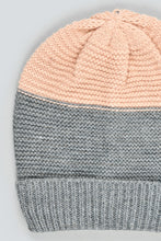 Load image into Gallery viewer, Pink Knitted Beanie and Scarf Set (Pack of 2)
