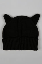 Load image into Gallery viewer, Black And Pink Knitted Beanie (Pack of 2)