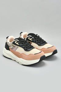 Pink Chunky Sole Trainer
