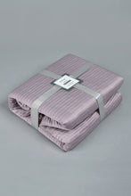 Load image into Gallery viewer, Purple Textured 3-Piece Bedspread Set (Double Size)