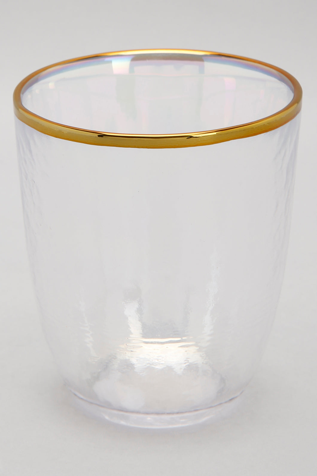 Iridescent Colour Gold Band Tumbler