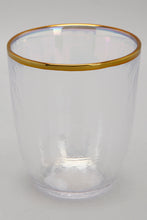Load image into Gallery viewer, Iridescent Colour Gold Band Tumbler