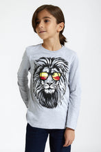 Load image into Gallery viewer, Grey Lion T-Shirt