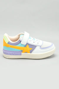 White Star Patch Sneaker