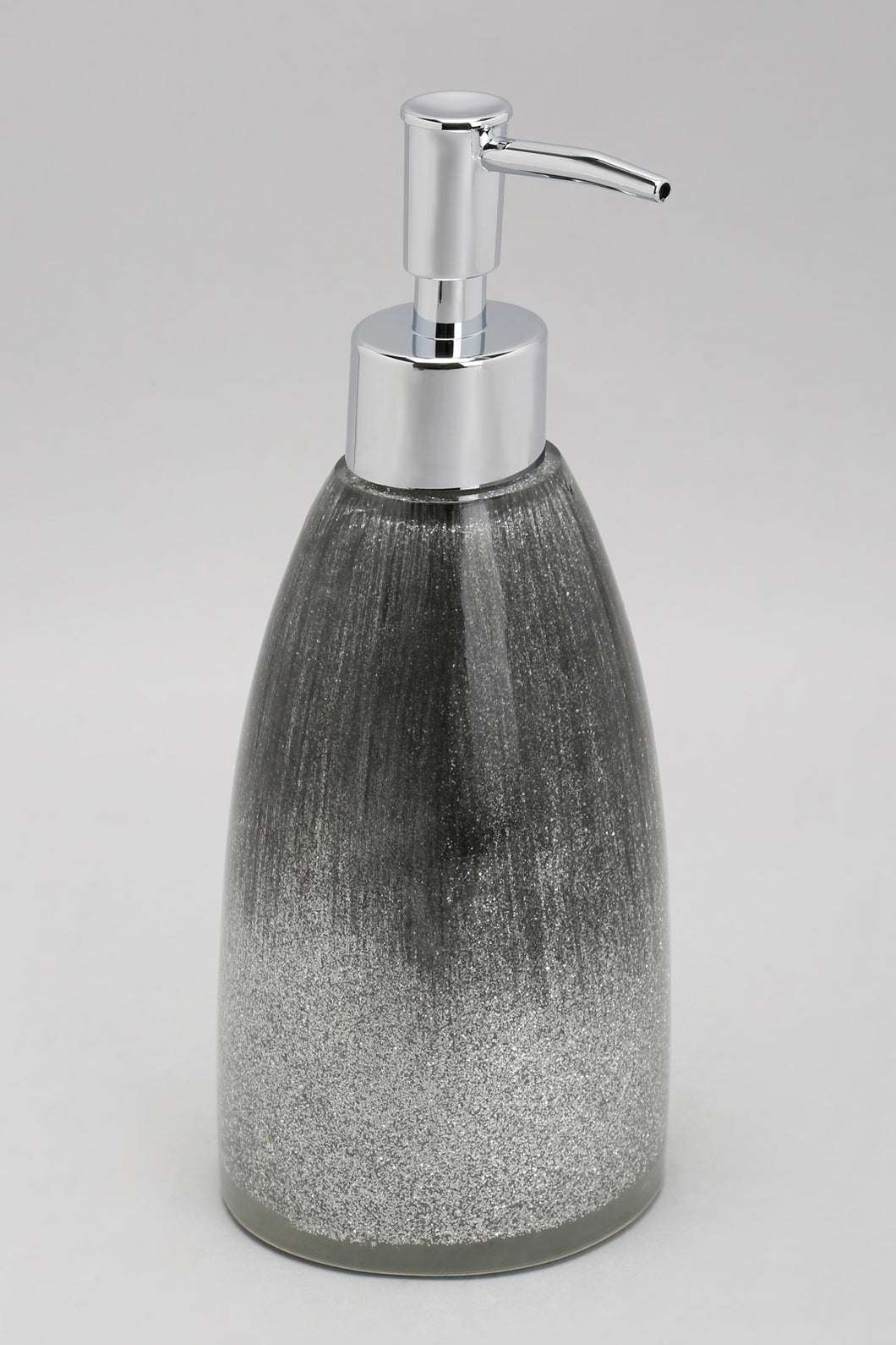 Silver/Black Lotion Dispenser