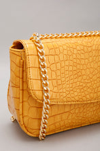Load image into Gallery viewer, Mustard Reptile Cross Body Bag