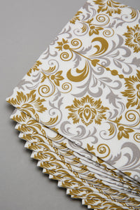 Assorted Floral Print Paper Napkins (20 Piece)