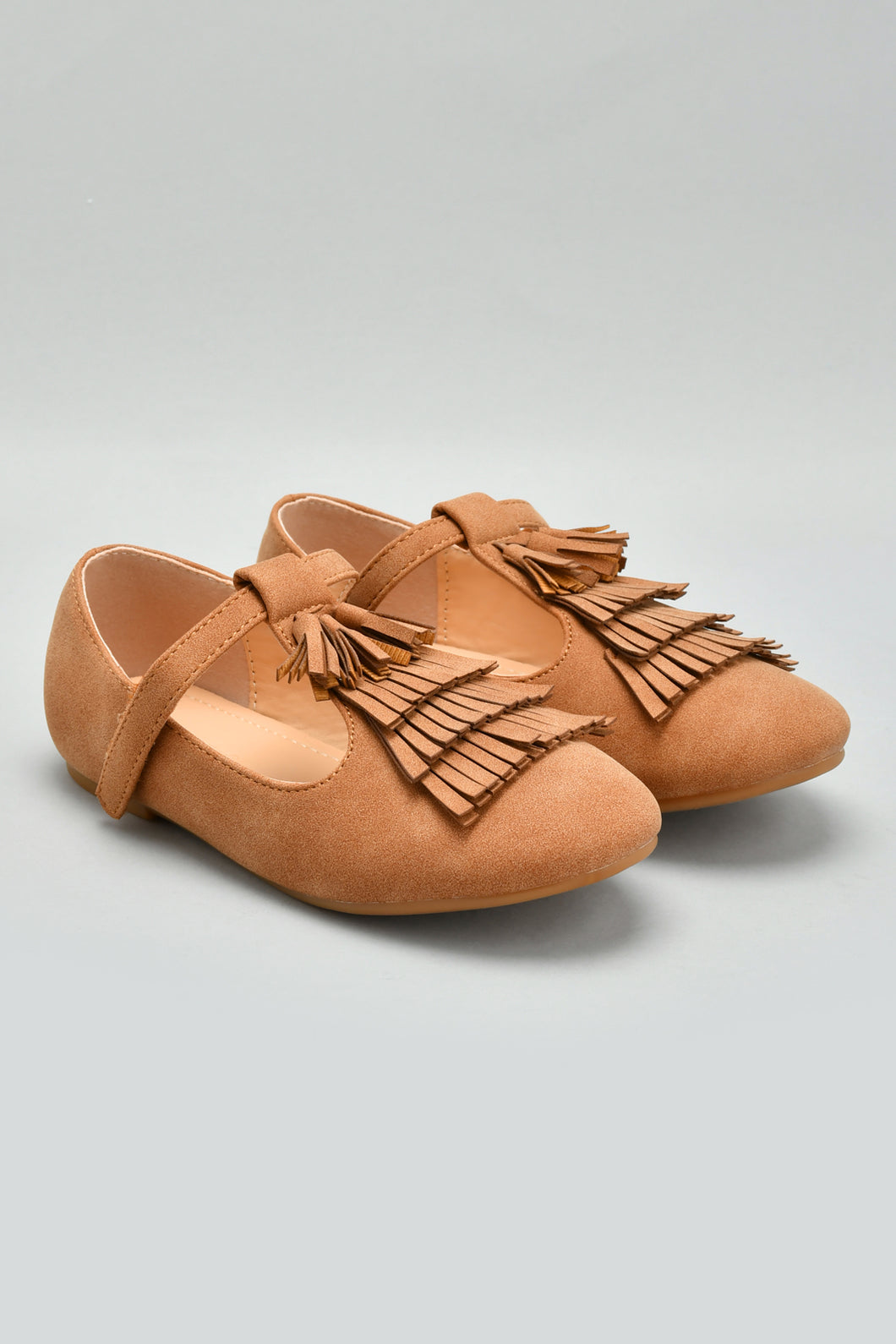 Brown Tassel Ballerina