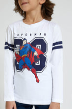 Load image into Gallery viewer, White Superman T-Shirt