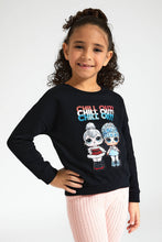 Load image into Gallery viewer, Black Chill Out LOL Sweatshirt