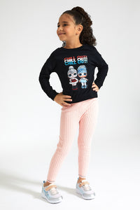 Black Chill Out LOL Sweatshirt
