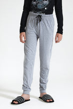 Load image into Gallery viewer, Black/Grey Dreaming Printed Pyjama Set