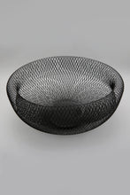Load image into Gallery viewer, Black Metal Round Basket