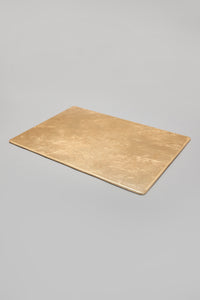 Gold Rectangle Placemat (4 Piece)