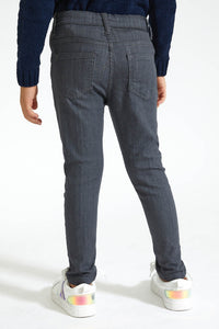 Grey 5 Pocket Jean