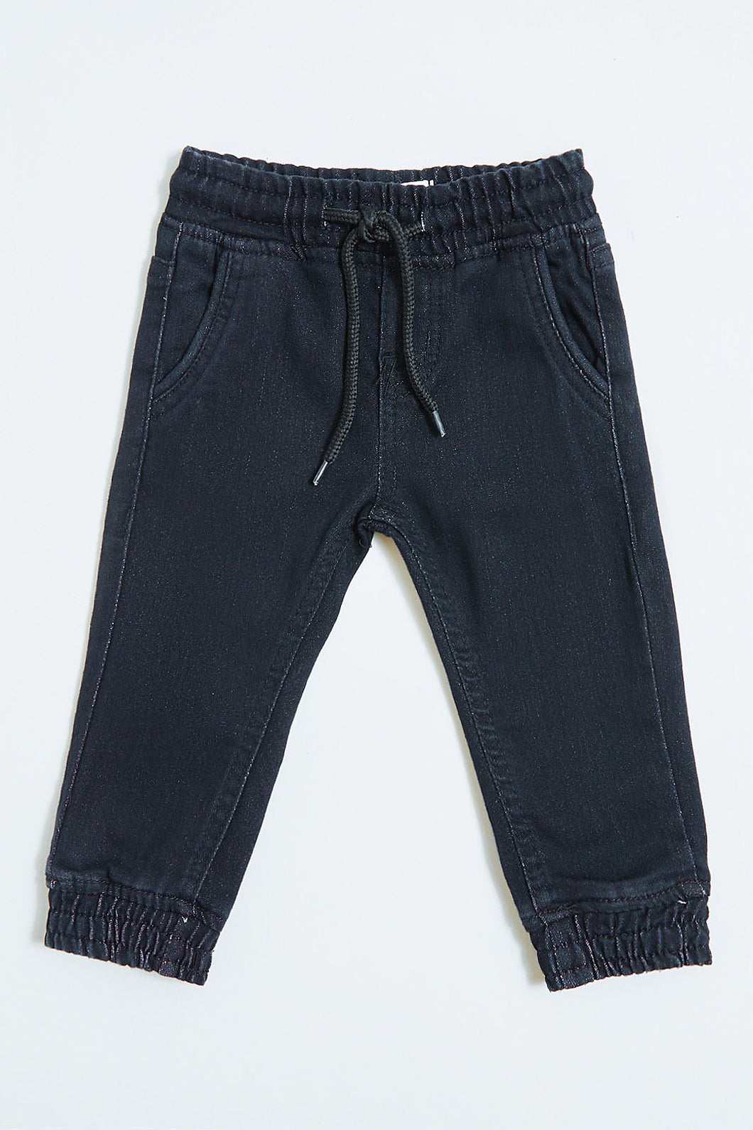 Black Knitted Jogger Jean
