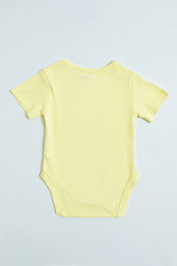 Yellow 5Pk Body Suits