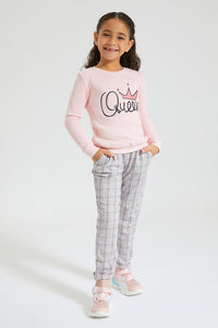 Pink Queen Sweatshirt