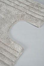 Load image into Gallery viewer, Beige Bath Mat Set (2 Piece)