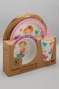Multicolour Character Breakfast Set (5 Piece)