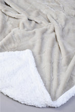 Load image into Gallery viewer, Grey Double Layer Reversible Blanket (Single Size)