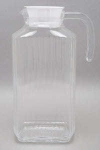 Clear Texture Glass Jug