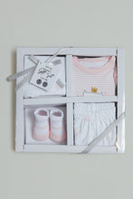 Load image into Gallery viewer, Pink Baby Box Gift Set (Pack of 4)