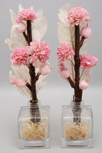 Load image into Gallery viewer, Pink Peony Dried Flower Vase Set (2 Piece Set)