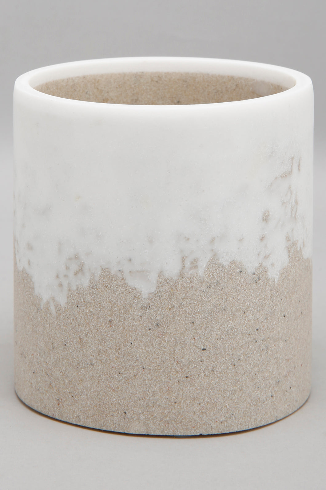 Beige Cotton Jar