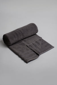 Charcoal Luxury Cotton Bath Towel