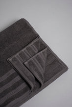 Load image into Gallery viewer, Charcoal Luxury Cotton Bath Towel