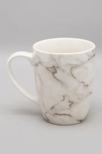 Load image into Gallery viewer, White Marble Print Mug And Coaster (2 Piece Set)