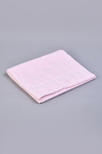 Load image into Gallery viewer, Pink Textured Cotton Bath Sheet
