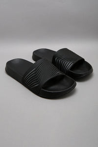 Black Embossed Slide
