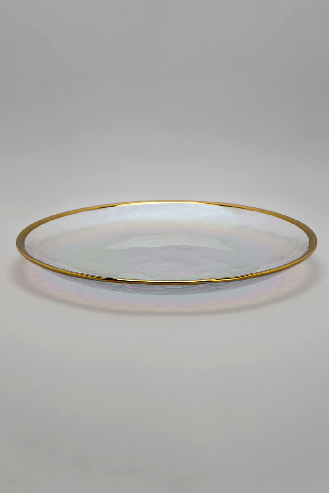 Iridescent Gold Rim Side Plate