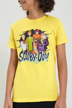 Load image into Gallery viewer, Yellow Scooby-Doo Printed T-Shirt