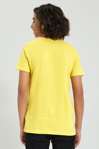 Yellow Scooby-Doo Printed T-Shirt