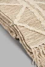Load image into Gallery viewer, Beige Handwoven Rug