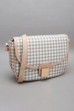 Load image into Gallery viewer, Beige Textured Crossbody Bag