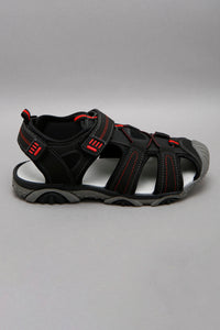 Black Fisherman Sandal