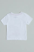 Load image into Gallery viewer, White Surf Club Print T-Shirt