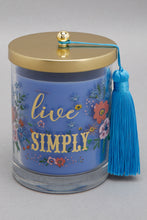 Load image into Gallery viewer, Blue Sandalwood Garden Jar Candle