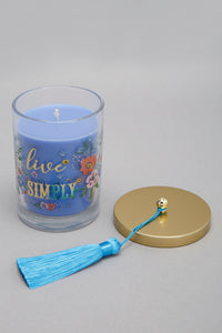 Blue Sandalwood Garden Jar Candle