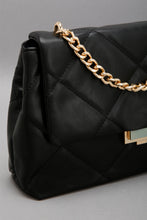 Load image into Gallery viewer, Black Quilted Bag