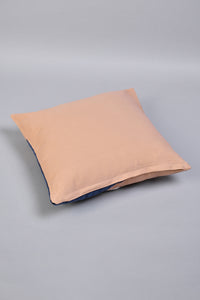 Beige Abstract Face Cushion