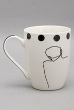 Load image into Gallery viewer, White/Black Picasso Print Mug