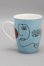Load image into Gallery viewer, Blue Picasso Printed Mug