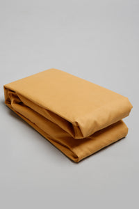 Mustard Fitted Sheet (Double Size)